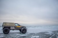 Karakatitsaga pääseb liikuma ka kõige raskemates jääoludes.