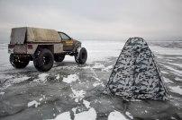 Pakume lisaks karakatitsaga järvetakso teenust kalameestele ning rendime tuulevarjuks kalapüügi-telki.