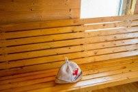 Igas kohaliku mehe saunas käiakse leili võtmas korraliku saunamütsiga!