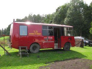 Varnja SaunafEST vol2 üritusele vurab spetsiaalselt kohale Hiiumaa Saunabuss