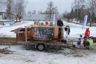Mobiilne peotünn liitub Varnja SaunafEST üritusega