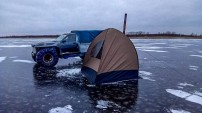 Mesi tare kodumaja karakatitsa ja telksaun Peipsi järvel