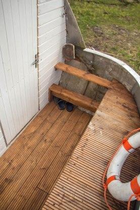 Trepp saunapaati.