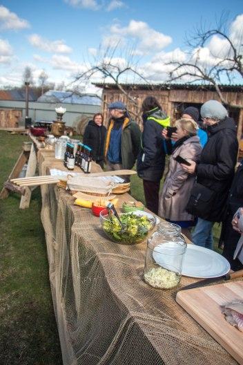 2017 on Peipsimaa maitsete aasta ja seda tõendav rändkahvel alati laual kaetud