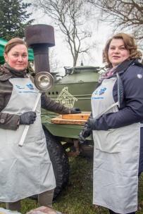 Varnja kalalaat 2018. Mesi tare supikatel ja appi tulnud vabatahtlikud.