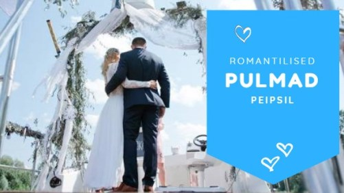 romantilised pulmad Peipsil