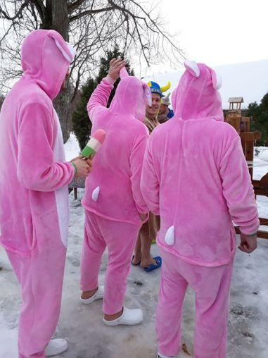 Foto: võistkond Rudolf ja päkapikk