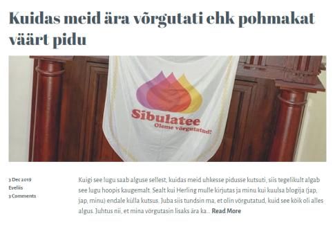 estonianwithabackpack blog 3.12.2019